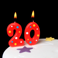 stock-photo-14301910-20th-birthday-candles