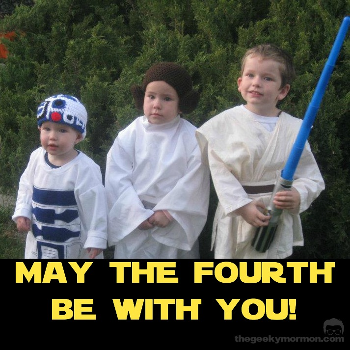 May The 4th Be With You Funny: Star Wars Fun For May The Fourth