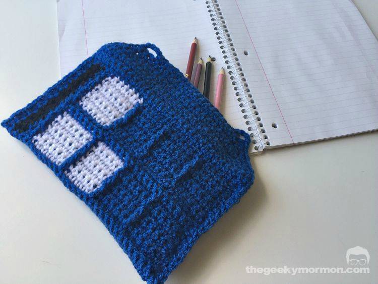 police box pencil bag
