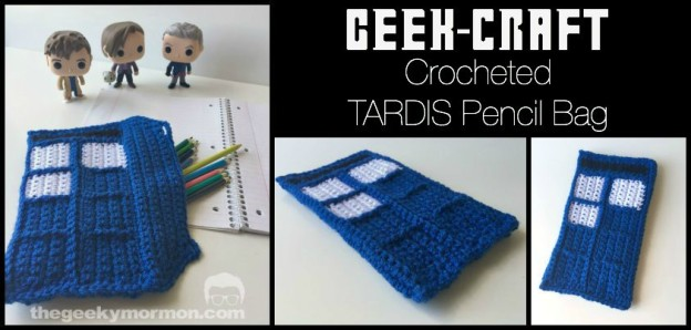 Tardis Pencil Bag The Geeky Mormon