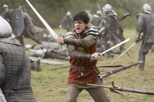 Edmund in the battle in Prince Caspian. via Narnia wiki