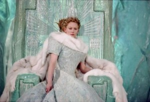 Tilda Swinton as the White Witch, via IMDB