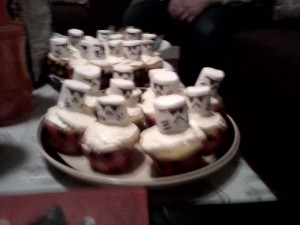 Completed Stormtrooper Cupcakes