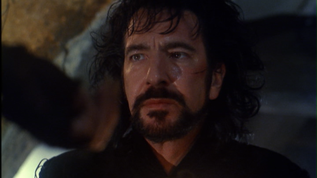 Alan Rickman as the Sheriff of Nottingham