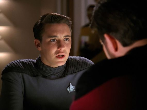 Wil Wheaton at Wesley Crusher
